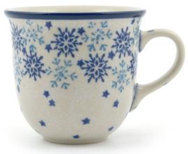 Bunzlau Tulip Mug Senseo 200 ml Christmas Stars