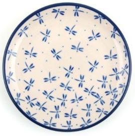 Bunzlau Plate 26,5 cm Damselfly