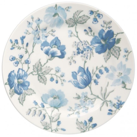GreenGate Plate Donna blue -stoneware-