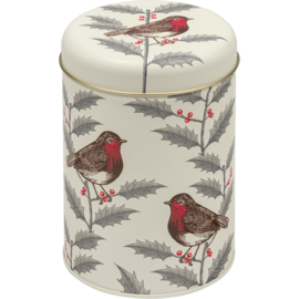 Thornback & Peel Robin & Holly Round Caddy