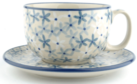 Bunzlau Cup & Saucer 350 ml Sea Star
