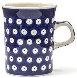 Bunzlau Straight Mug Small 150 ml Blue Eyes