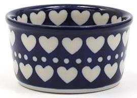 Bunzlau Ramekin Bowl 9 cm Blue Valentine