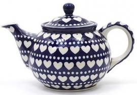 Bunzlau Teapot 0,9 l Blue Valentine