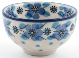 Bunzlau Bowl 50 ml Blue White Love