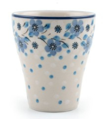 Bunzlau Mug for Carafe 200 ml Blue White Love