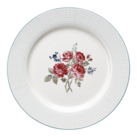 GreenGate Dinnerplate Elisabeth pale blue -stoneware-
