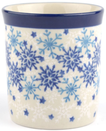 Bunzlau Bowl on Foot 630 ml Christmas Stars -foto ter indicatie van de print-