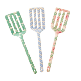 Rice Melamine Spatula in 3 Assorted SHINE Prints