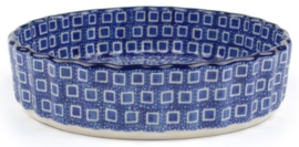 Bunzlau Pie Dish 480 ml / 15,5 cm Blue Diamond