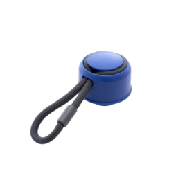 Rice Lid for Isolating Drinking Bottle - Midnight Blue with Dark Grey Thread