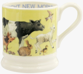 Emma Bridgewater Bright New Morning 1/2 Pint Mug