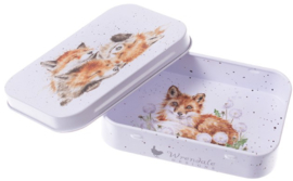 Wrendale Designs 'The Afternoon Nap' mini gift tin