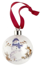 Wrendale Designs 'Gathered All Around' Christmas Bauble