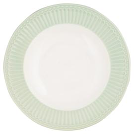 GreenGate Deep Plate Alice Pale green -pastabord / soepbord-