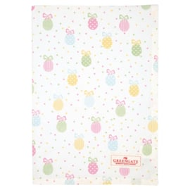GreenGate Tea Towel Elena white