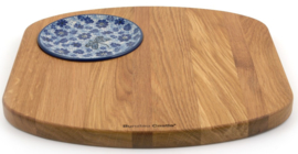 Bunzlau Serving Board Wood Square