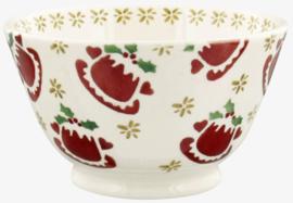 Emma Bridgewater Christmas Puddings Small Old Bowl