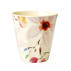 Rice Medium Melamine Cup - Selmas Flower Print