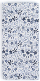 Bunzlau Table Runner Indigo Lace 45 x 140 cm
