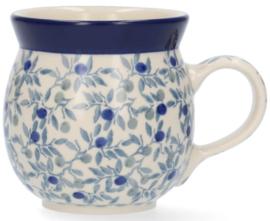 Bunzlau Farmers Mug 240 ml Blue Olive