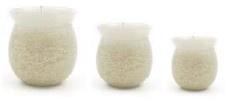 Bunzlau Candle Ivory