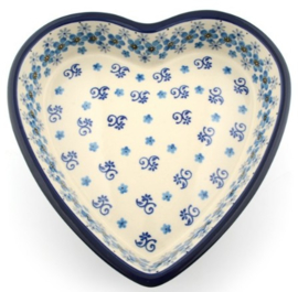 Bunzlau Baking Dish Heart 720 ml Autumn Breeze