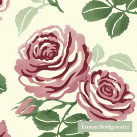 Emma Bridgewater Pink Roses Cocktail Napkins