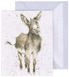 Wrendale Designs 'Gentle Jack' miniature card