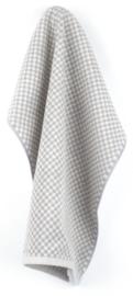 Bunzlau Kitchen Towel Small Check Grey