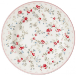 GreenGate Small Plate Carly white -stoneware- *Limited Edition*