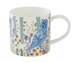 Ulster Weavers Straight Sided Mug Woodland Owl -Model A-