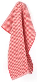 Bunzlau Kitchen Towel Small Check Red