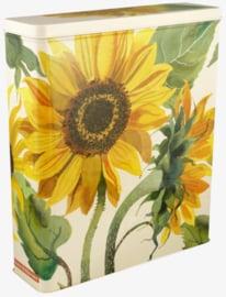 Emma Bridgewater Sunflower Tall Long Rectangular Storage Tin
