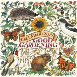 Emma Bridgewater Good Gardening 2021 Calendar -spiraal kalender-