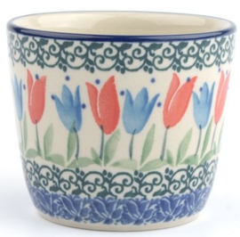 Bunzlau Mug Tumbler 190 ml Tulip Royal -Special Edition-