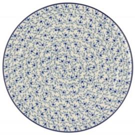 Bunzlau Pizza / Serving Platter Ø 33 cm Blue Olive
