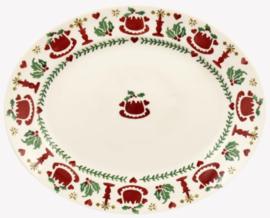 Emma Bridgewater Christmas Joy Small Oval Platter - 2021