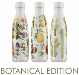 Chilly's Drink Bottle 500 ml Botanical Fruit -mat met reliëf-