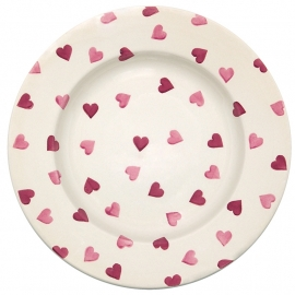 Emma Bridgewater Pink Hearts 10,5 inch Plate
