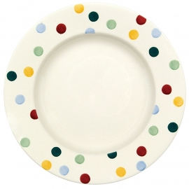Emma Bridgewater Polka Dot 10 1/2 Inch Plate
