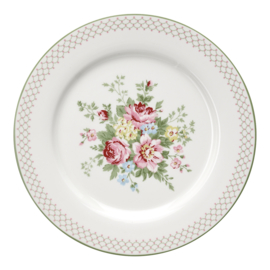 GreenGate Dinnerplate Aurelia white -stoneware-