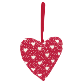 GreenGate Heart Penny red