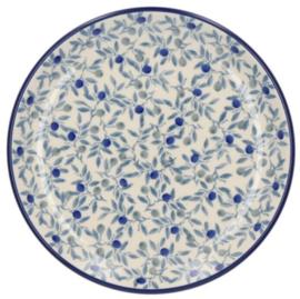 Bunzlau Cake Dish Ø 16 cm Blue Olive