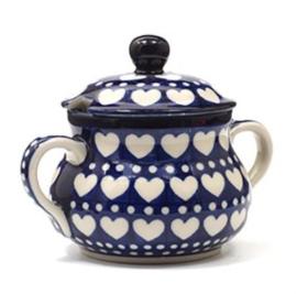 Bunzlau Sugar Basin Blue Valentine