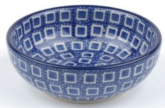 Bunzlau Serving Bowl 100 ml Blue Diamond H: 3 cm, Ø:  9 cm