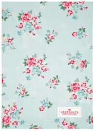 GreenGate Tea Towel Sonia pale blue