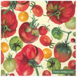 Emma Bridgewater Vegetable Garden Tomatoes Lunch Napkins