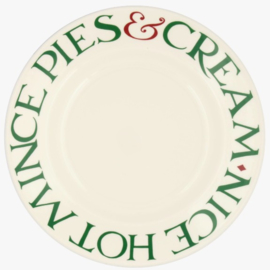 """Emma Bridgewater Christmas Toast Mince Pies 8 1/2"""" Plate"""