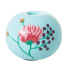 Rice Small Metal Candle Holder -Mint- Follow the Call of the Disco Ball
